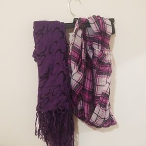 purple scarf bundle